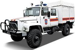 Аварийно-спасательный автомобиль «Егерь»