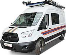 Аварийно-спасательные автомобили Ford Transit