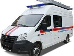Газоспасательные автомобили на базе ГАЗель NEXT