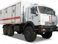 Газоспасательные автомобили на базе КАМАЗ
