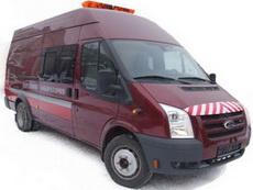 Передвижная дорожная лаборатория Ford Transit