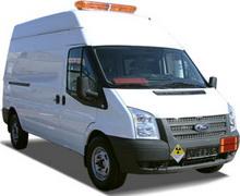 Автомобиль для перевозки опасных грузов Форд