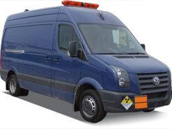 Автомобиль для перевозки опасных грузов Volkswagen Crafter
