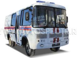 Оперативный автомобиль МЧС на базе ПАЗ