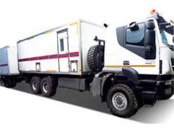Автомобильный комплекс санитарной обработки на шасси IVECO-АМТ
