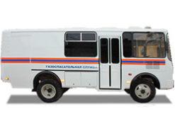 Газоспасательный автомобиль на базе ПАЗ 3206