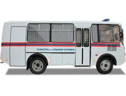 Газоспасательный автомобиль на базе ПАЗ 32053