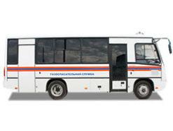 Газоспасательный автомобиль на базе ПАЗ 320402