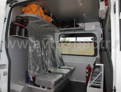 Аварийно-спасательный автомобиль на базе FORD