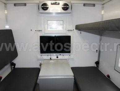 Жилой модуль на автомобиле КАМАЗ 43118-46