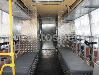 Газоспасательный автомобиль ПАЗ 320530