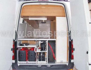 Мобильная лаборатория нефтепродуктов VW Crafter -2