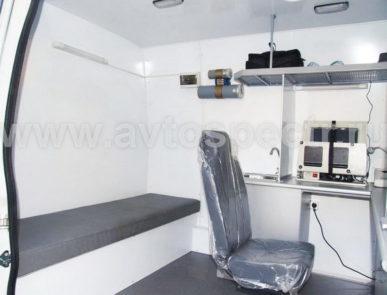 Передвижная лаборатория радиационного контроля Fiat Ducato