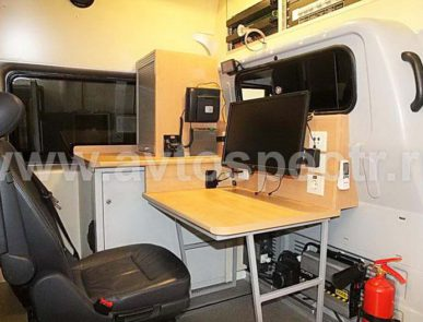 Передвижная лаборатория радиационного контроля на базе Ford Transit