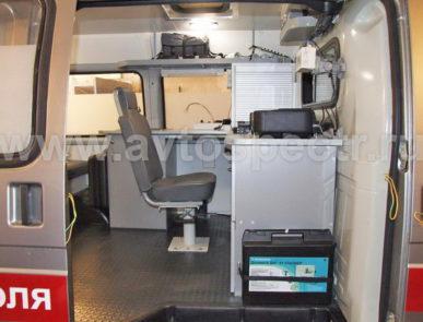 Передвижная лаборатория радиационного контроля ГАЗель