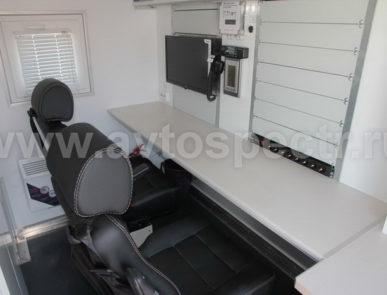 Передвижная лаборатория радиационного контроля на базе IVECO MLL 150E28W