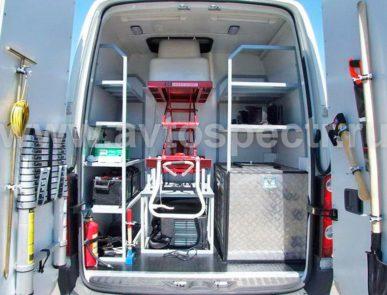 Передвижная лаборатория радиационного контроля на базе Volkswagen Crafter