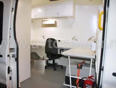 Передвижная ветеринарная лаборатория Ford Transit