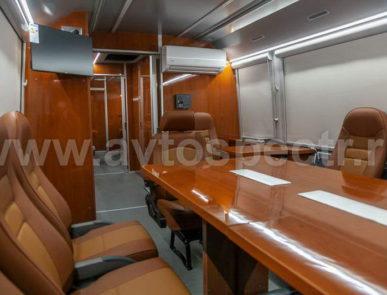 Штабной автомобиль на базе автобуса MAN LION`S COACH R07