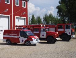 Классификация пожарной техники