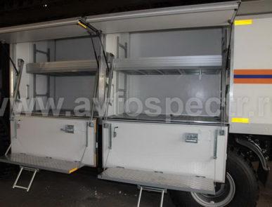 Аварийно-спасательные автомобили IVECO-AMT ML150E28W