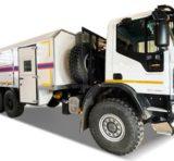 Аварийно-спасательные автомобили МЧС на базе Ford Transit и IVECO-AMT