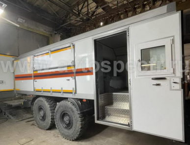 Аварийно-спасательные автомобили IVECO-AMT ML210E28W
