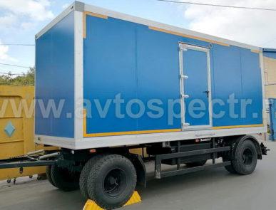 Мобильный санитарно-туалетный комплекс на базе прицепа НЕФАЗ